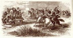 Operai respingono un attacco sioux
